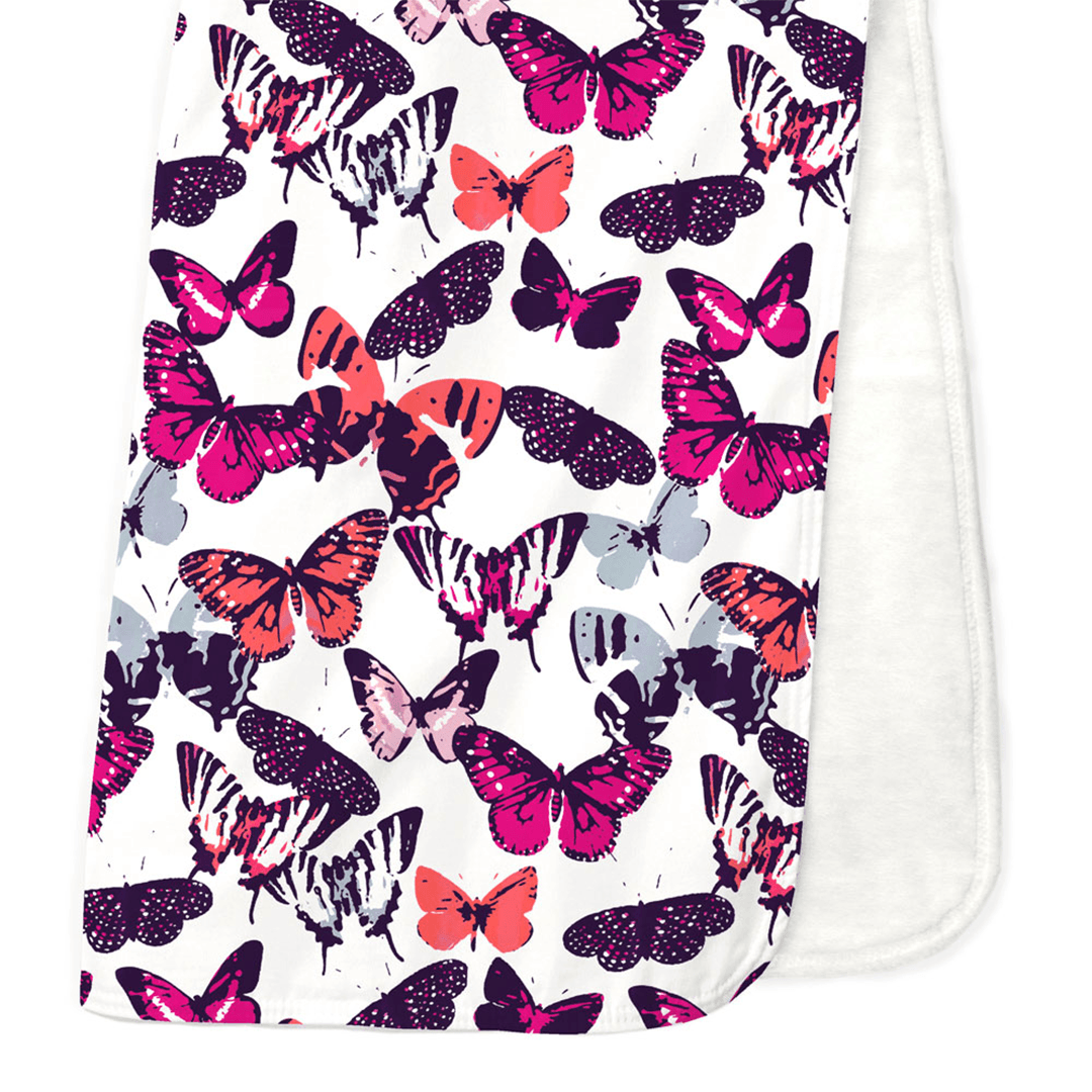 Butterfly Kisses Crib Blanket - Project Nursery