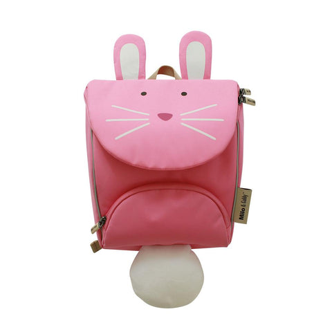 Junior Kid's Backpack - Hot Pink Color Block