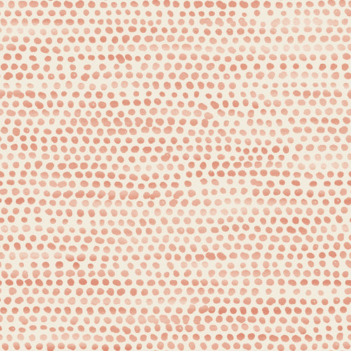 Moire Dots - Coral - Project Nursery