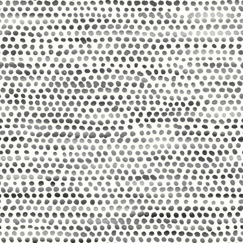 Moire Dots Wallpaper- Black + White - Project Nursery