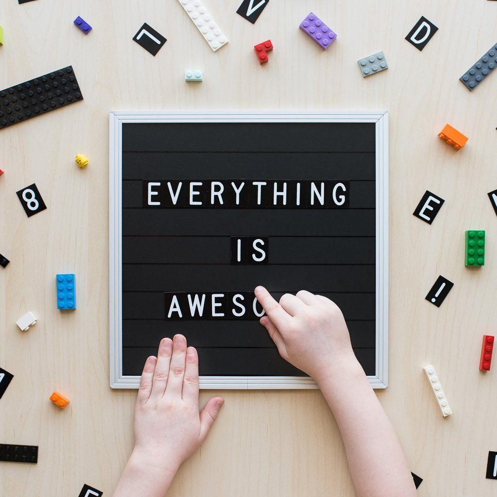 Letterfolk - The Magnetic Poet Letter Board - Project Nursery