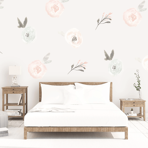 Poppy Wall Decals - Large