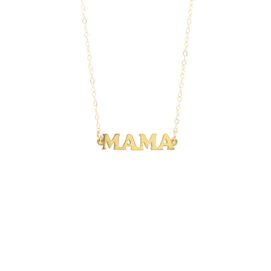 mama products necklace amarilo