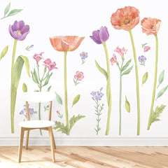 Make A Meadow Wall Decal Set - Large - Project Nursery