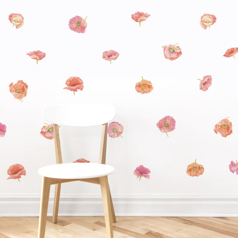 Rose Le Soir Wallpaper Mural