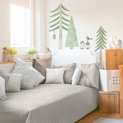 Evergreen Pine Forest Wall Decal Kit - Project Nursery