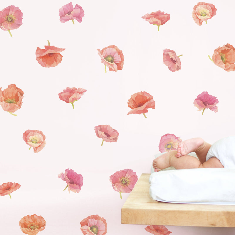 Poppy Wall Decals - Project Nursery