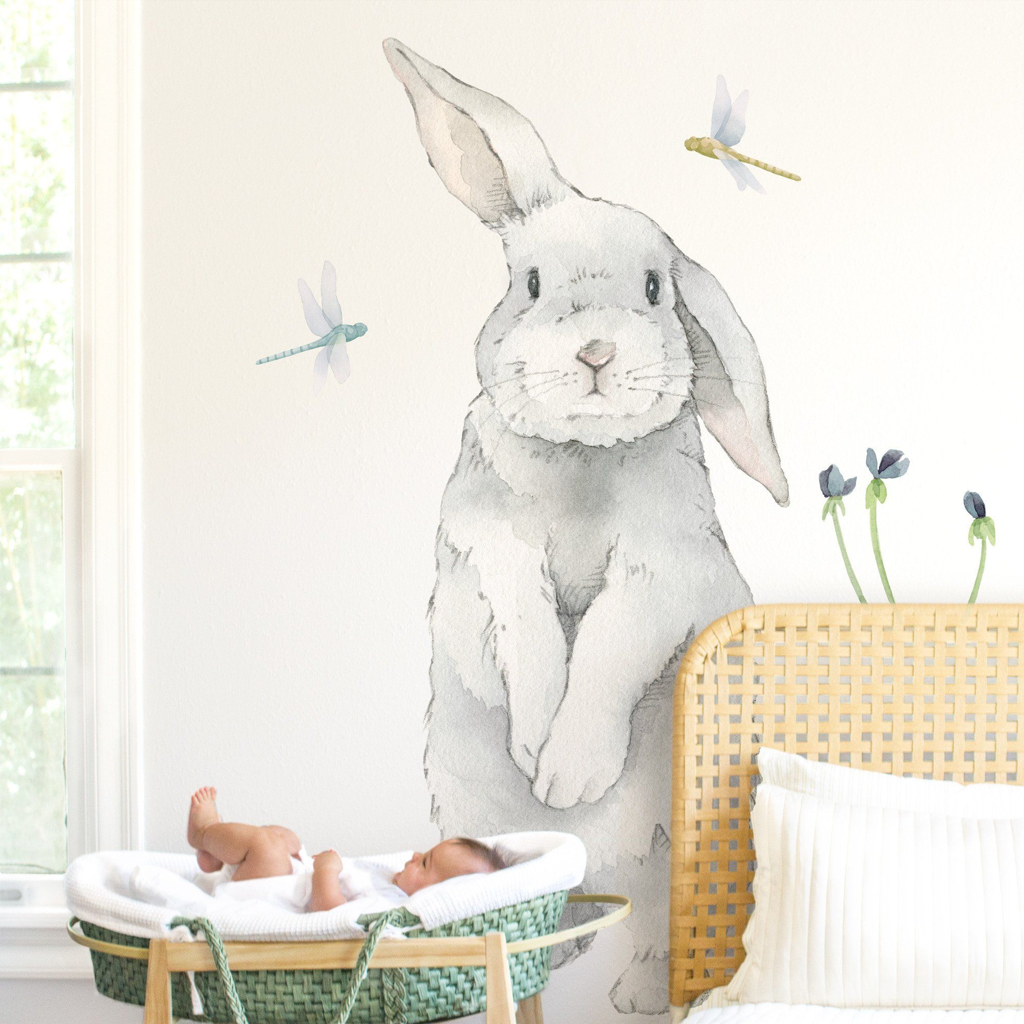 Big Bunny Wall Decal - Project Nursery