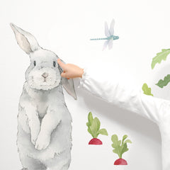 Silly Bunny Wall Decal - Project Nursery