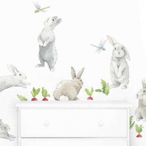 Bunny Kit Wall Decals - Project Nursery