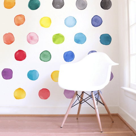 Mini Heart Wall Decals - Multiple Colors