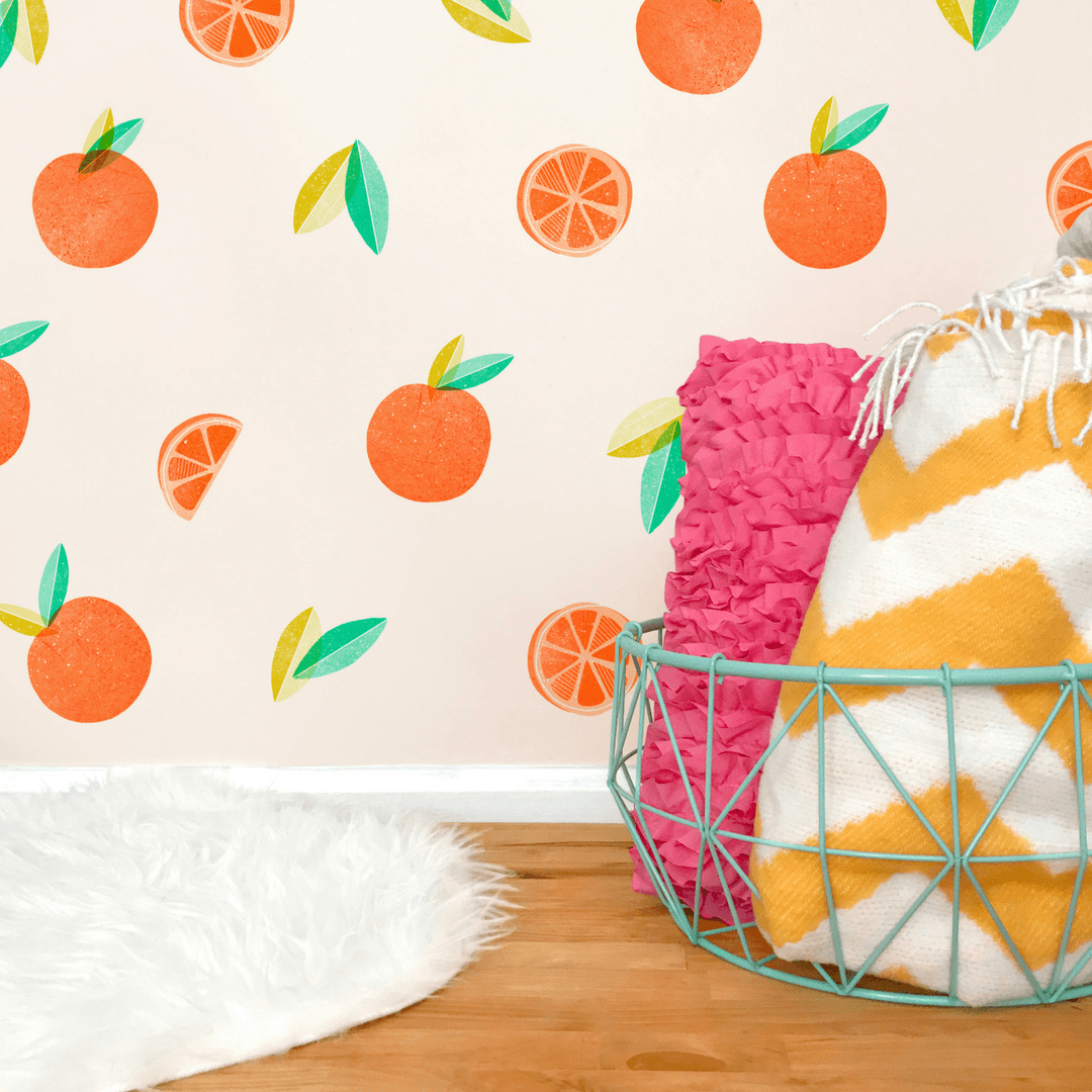 Oranges Wall Decals - Project Nursery