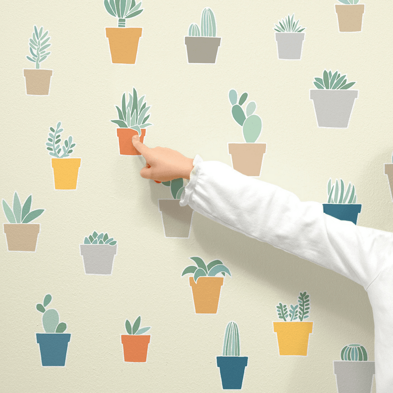 Succulents Wall Decals - Project Nursery