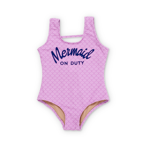 Mermaid on Duty One-Piece Swimsuit - Project Nursery