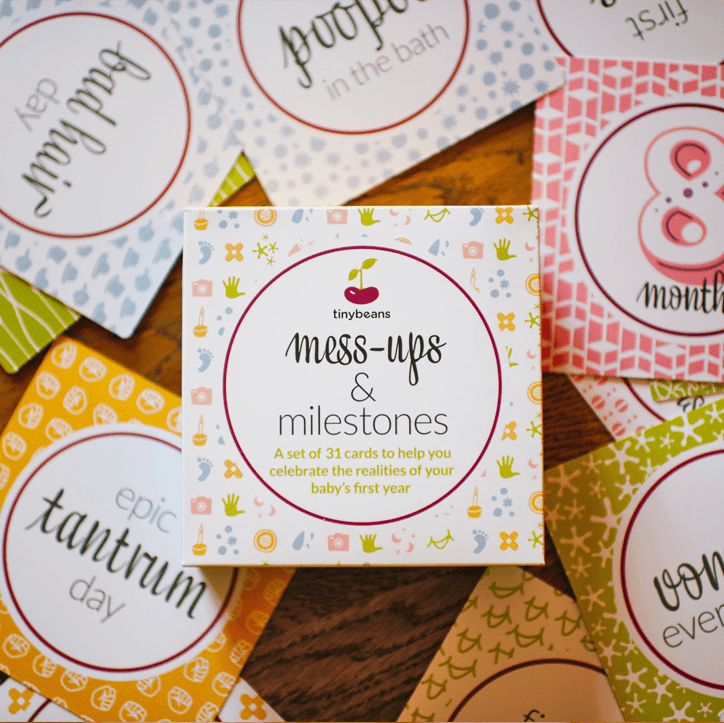 Mess-Ups + Milestone Cards  - The Project Nursery Shop - 3