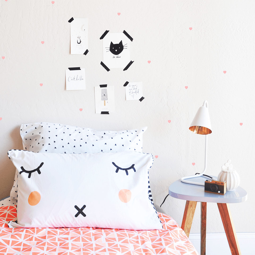 Micro Hearts Wall Decal - Project Nursery