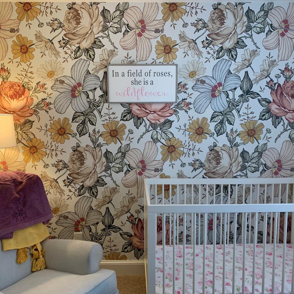 Mila Wallpaper - Project Nursery