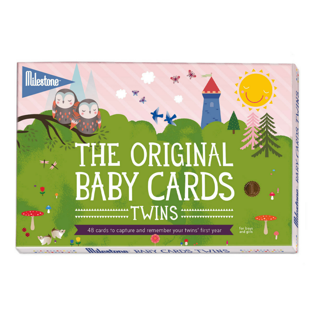 Milestone Cards - Twins Set - Project Nursery