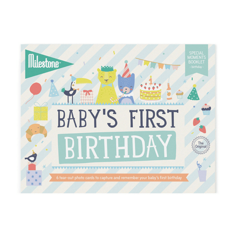 I Wish I May Milestone Blanket and Card Set