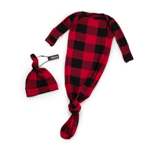 Lumberjack Knotted Hat and Gown Set - Project Nursery