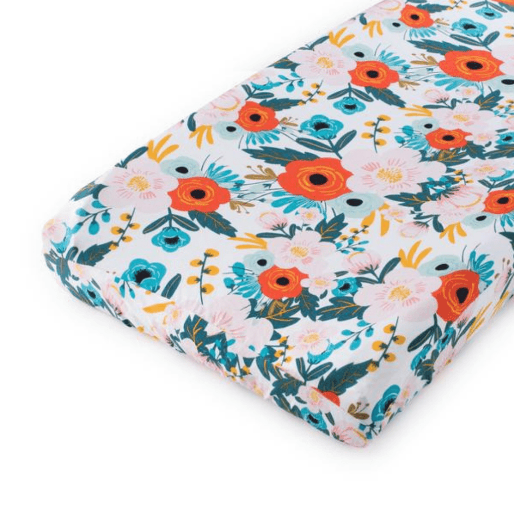 Magnolia Changing Pad Cover - Project Nursery
