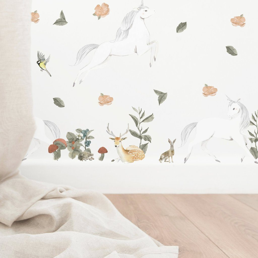 Little Unicorn Decal Set - Project Nursery
