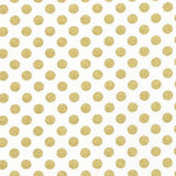 Metallic Gold Medium Dot Crib Sheet  - The Project Nursery Shop - 2
