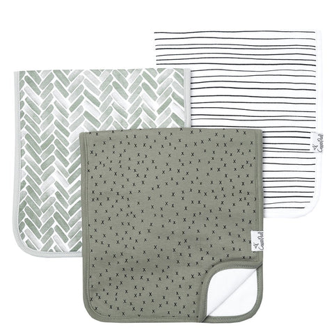 Jade Burp Cloth Set