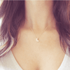 Moon Necklace in Rose Gold  - The Project Nursery Shop - 3