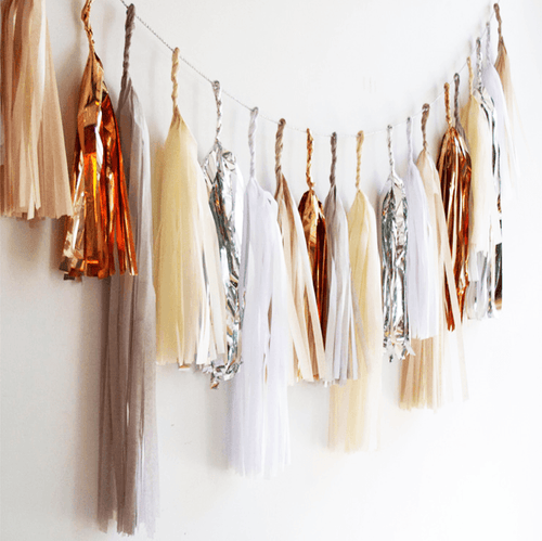Moon Shadow Tassel Garland - Project Nursery