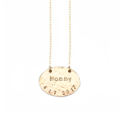 Mother's Day Identity Established Necklace - Project Nursery