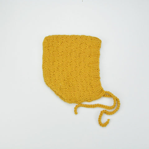 Popcorn Knitted Bloomer - Mustard
