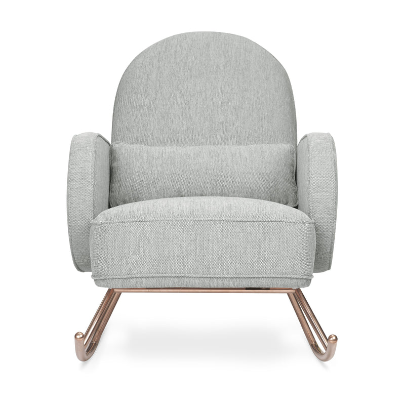 Compass Rocker with Rose Gold Legs Furniture Nursery Works