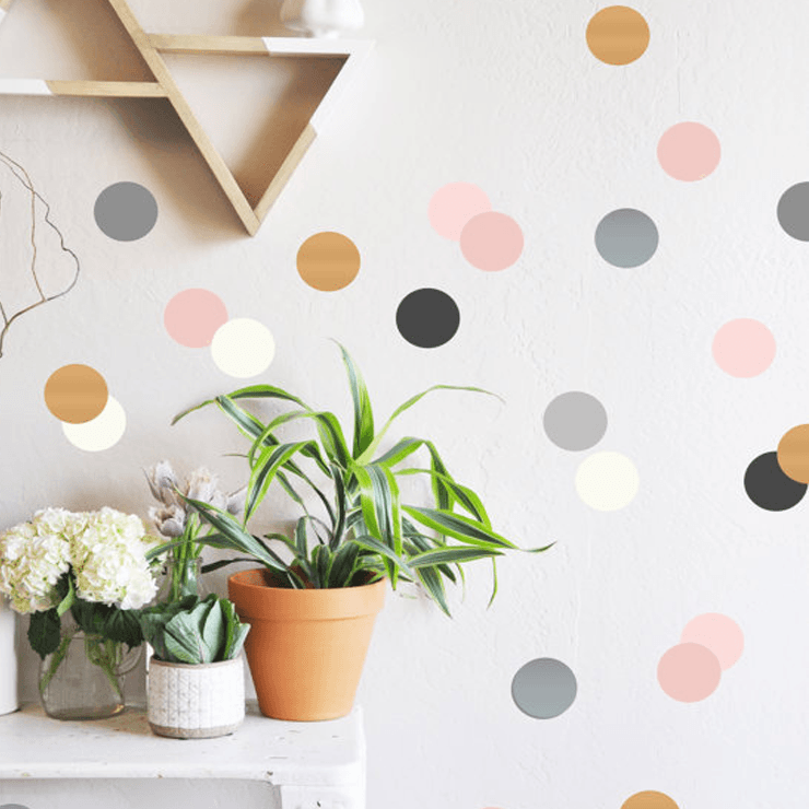Confetti Dots Wall Decal - Project Nursery