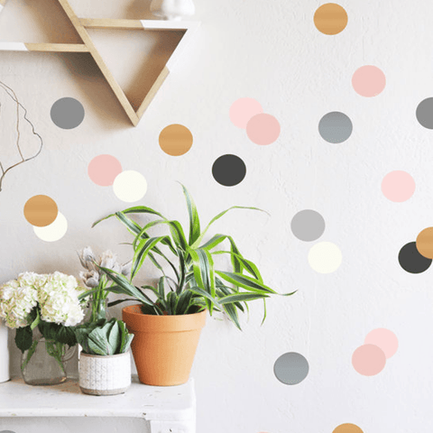 Irregular Dots Wall Decals - Multiple Colors