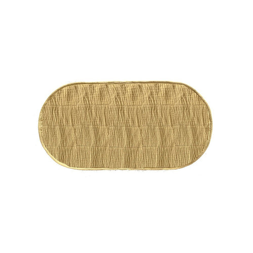 Luxe Organic Cotton Liner - Mustard - Project Nursery