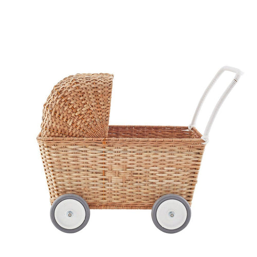Strolley Basket in Natural - Project Nursery