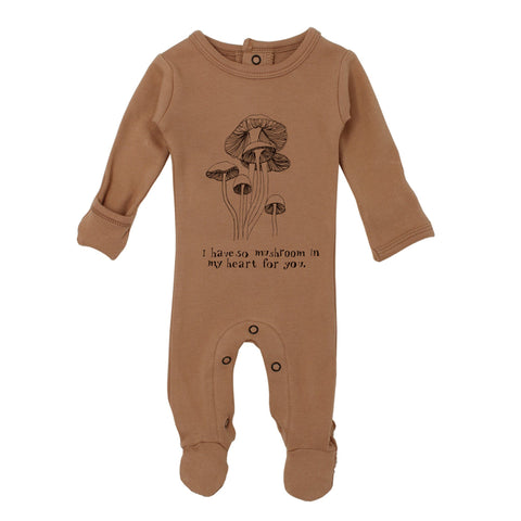 Peas Organic Graphic Footie