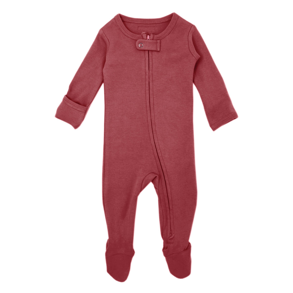 Appleberry Organic Footed Overall - Project Nursery