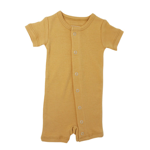Honey Organic Short-Sleeve Romper - Project Nursery