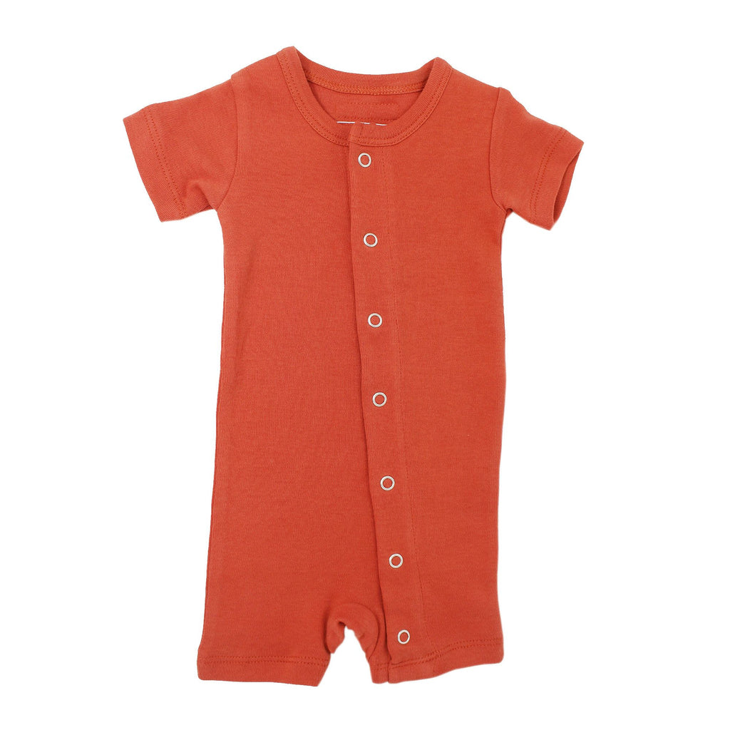 Maple Organic Short-Sleeve Romper - Project Nursery