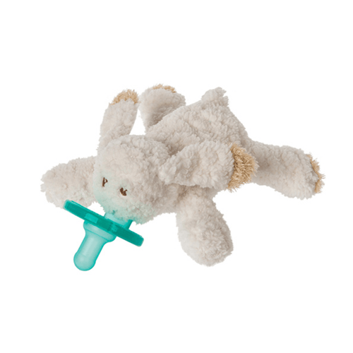 Oatmeal Bunny Wubbanub Pacifier - Project Nursery