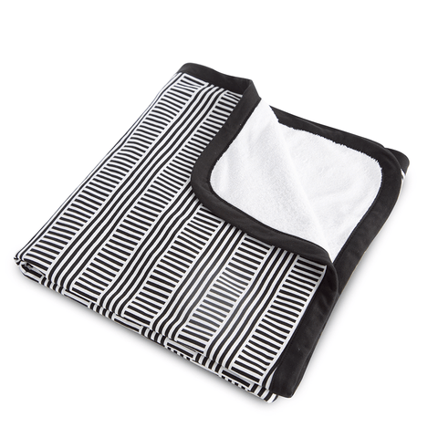 Ink Stripe Swaddle