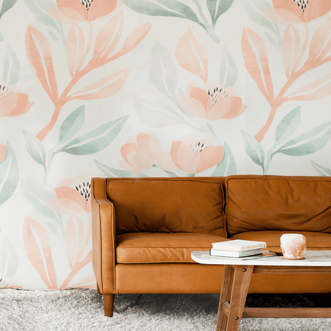 Crimson Poppy Wallpaper Mural