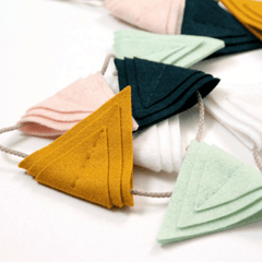Triangle Flag Bunting - Project Nursery