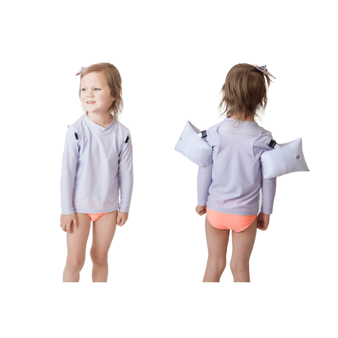 Otter Wings Long Sleeve Swim Shirt - Project Nursery