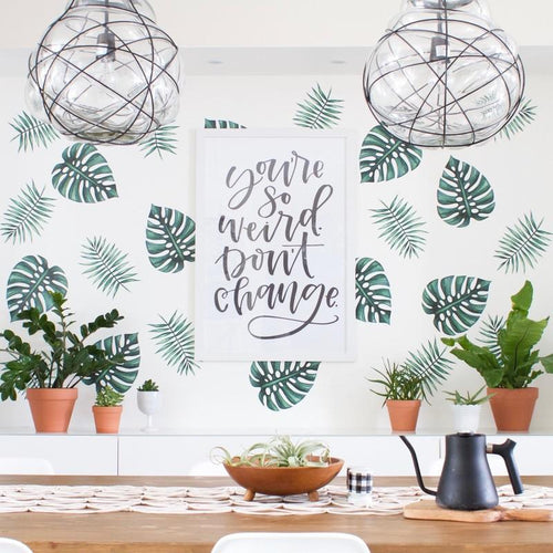 Palm Branches Wall Decals - Project Nursery
