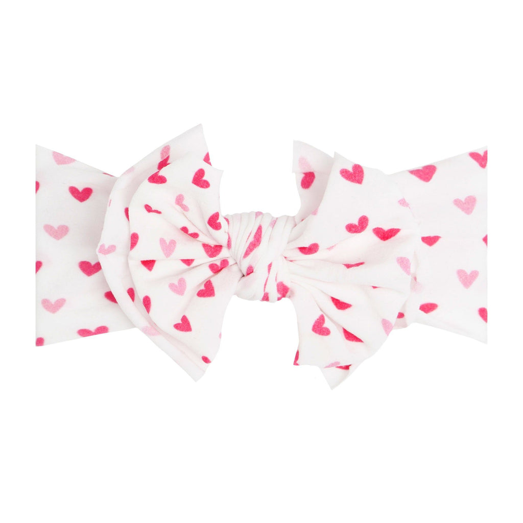 Love Letter Printed Fab-Bow-Lous Knot Headband - Project Nursery