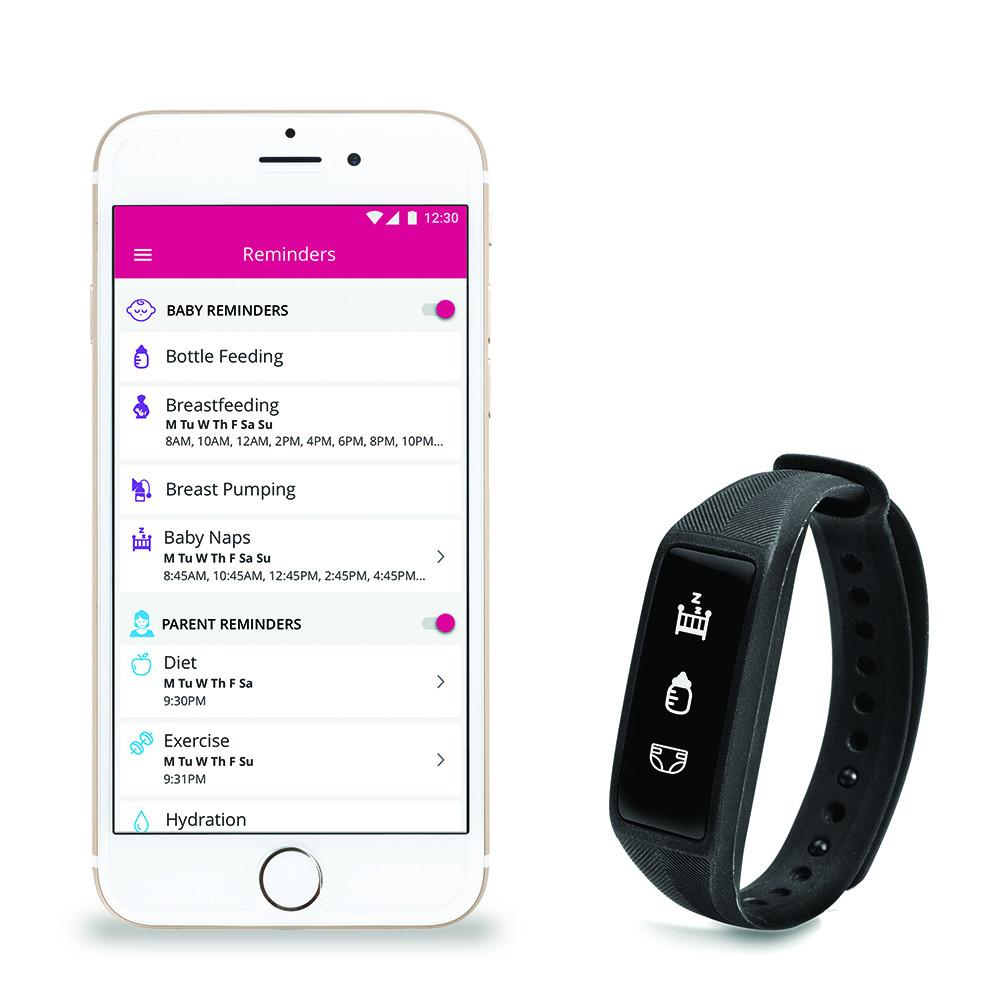 Project Nursery Parent + Baby SmartBand w/ 2 Additional Bands  - The Project Nursery Shop - 3