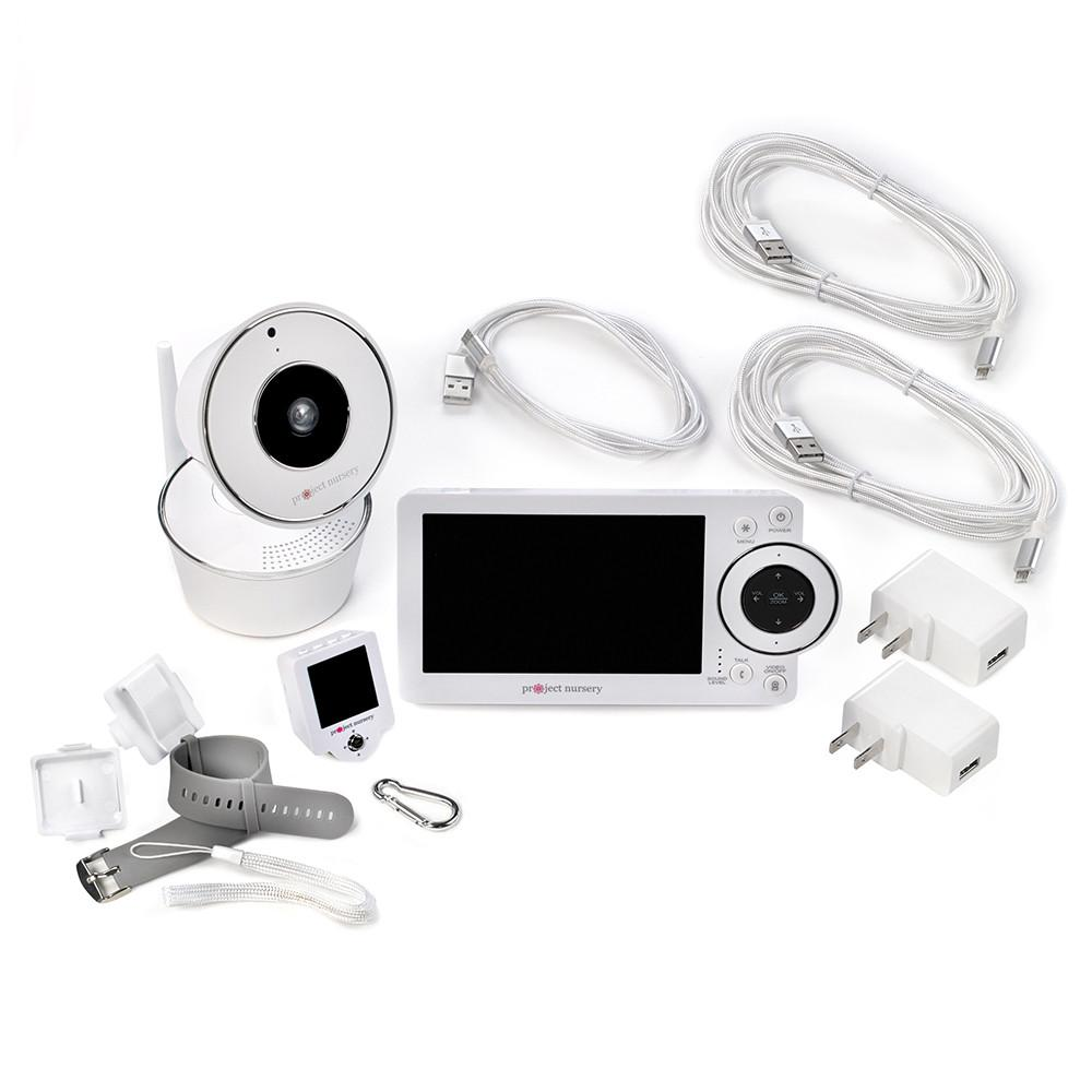 Project Nursery 5\u201d High Definition Baby Monitor System with 1.5\